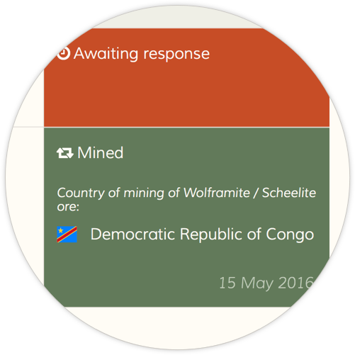 Mined in Angola and Democratic Republic of Congo
